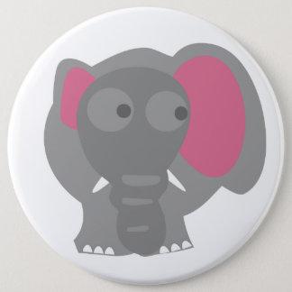 Elefant-Knopf Runder Button 15,3 Cm
