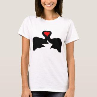 Elefant-Liebe-Mädchent-stück T-Shirt