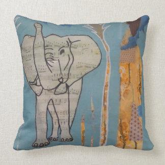 Elefant-Musik-Kissen Kissen