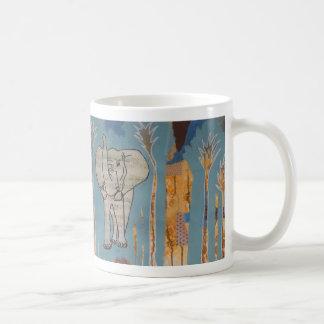 Elefant-Musik-Tasse Kaffeetasse