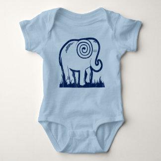 Elefant Onsie Baby Strampler