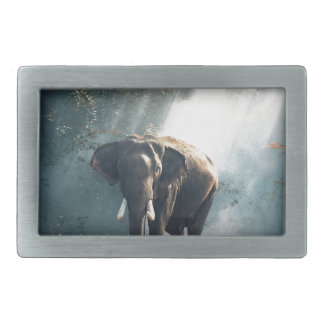 Elefant Rechteckige Gürtelschnallen