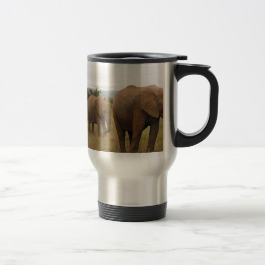 Elefant Reisebecher