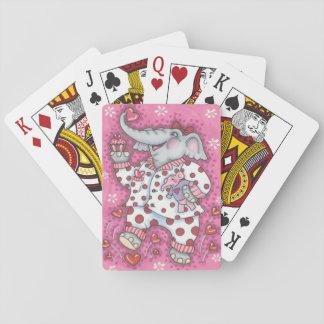 Elefant-Schatz STANDARDSPIELKARTEN Poker Pokerkarten