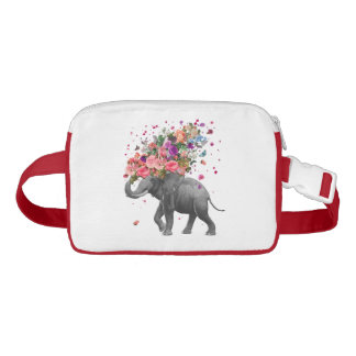 Elefant-Spritzen Gürteltasche
