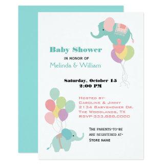 elefant babyparty einladungen | zazzle.ch, Einladungsentwurf