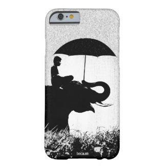 Elefantregen Kunst iPhone 6/6s Fall kaum dort Barely There iPhone 6 Hülle