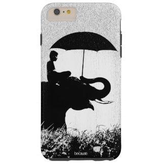 Elefantregen Kunst iPhone 6/6s plus starken Fall Tough iPhone 6 Plus Hülle