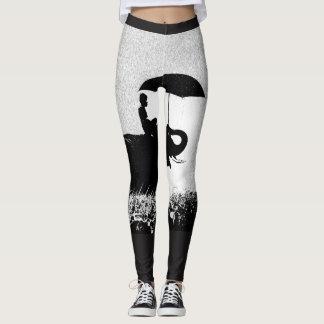 Elefantregen Kunst-kundenspezifisches Leggings