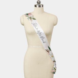 Elegant Magnolia Brautparty Future Frau. Schärpe