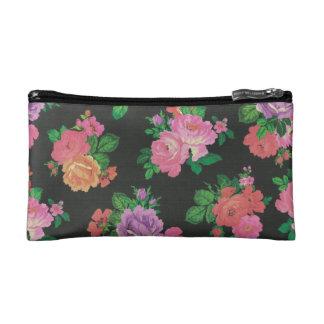 elegante Blume Blumenmuster-Kosmetiktasche Kosmetiktasche