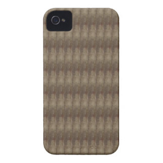 Elegante dunkle Schatten-Metallblick-Muster iPhone 4 Case-Mate Hülle