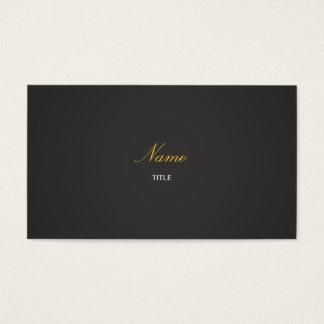 Elegante - en cartes de visite