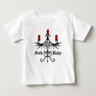 Elegante gotische Art Baby T-shirt