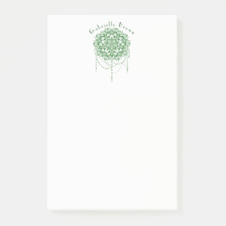 Elegante Jeweled Zen-Mandala Post-it Haftnotiz
