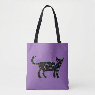 Elegante Katze Tasche