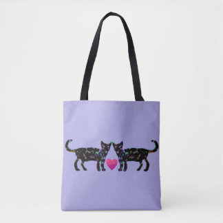 Elegante Katzen Tasche