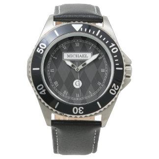 Elegante kundenspezifische armbanduhr