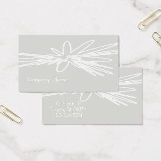 Elegante künstlerische Touch-Geschäfts-Karte Visitenkarte