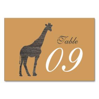 Elegante Lehm-Giraffen-Hochzeit