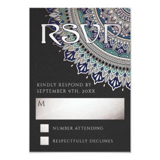 Elegante Mandala-Hochzeit UAWG Karten Karte
