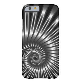 Elegante MetallMuschel Barely There iPhone 6 Hülle