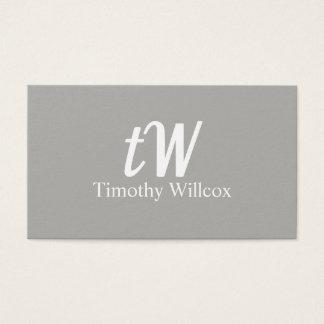 Elegante Moderne Minimalistische Gestaltung Visitenkarte