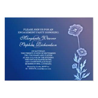 elegante schöne Verlobungs-Party Einladungen