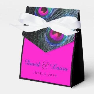 Elegante schwarze aquamarines und heißes geschenkkartons