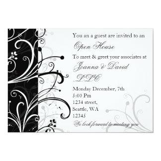 elegante UnternehmensParty Einladung