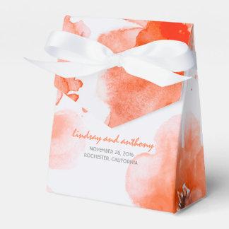 Elegante Wedding Watercolor-Blumen Geschenkschachteln