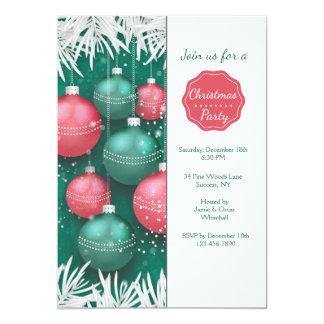 Elegante WeihnachtsParty Einladung