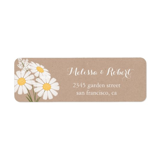 Elegante weiße Gänseblümchen-Blumenstrauß-mit