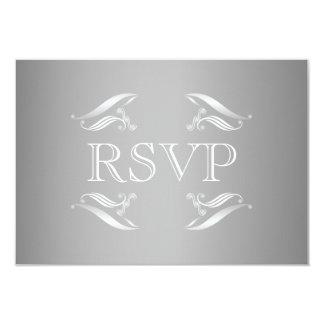 Elegante Winter-Hochzeit UAWG Karte 8,9 X 12,7 Cm Einladungskarte