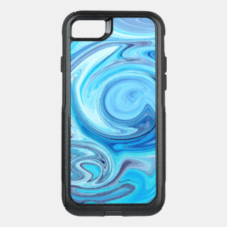 eleganter abstrakter Marmormuster iPhone 7 Fall