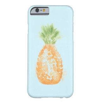 Eleganter Aquarell-Ananas Iphone 6/6S Fall Barely There iPhone 6 Hülle