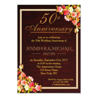 Eleganter Blumenstrauß-Hochzeitstag laden ein Karte