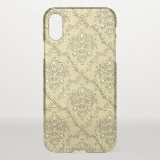 Eleganter Golddamast seltener iPhone X Fall iPhone X Hülle