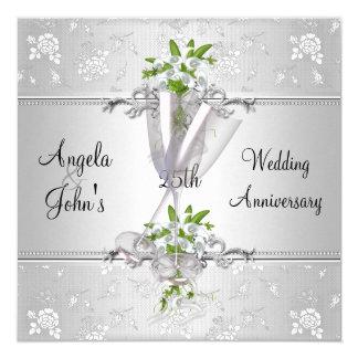 Eleganter Hochzeitstag lädt ein Karte