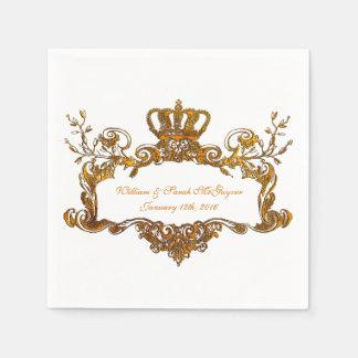 Eleganter königlicher servietten