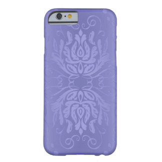 Eleganter Lavendel-Blumendamast iPhone 6 Fall Barely There iPhone 6 Hülle