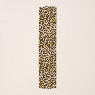Eleganter Leopard-Tierdruck-Muster Schal