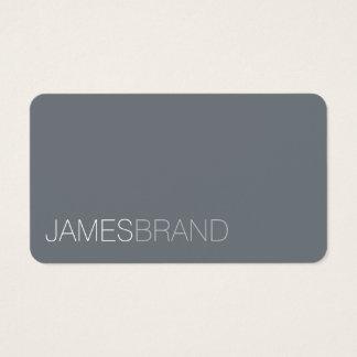 Eleganter Minimalist Visitenkarte