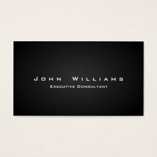 Eleganter minimalistischer unabhängiger visitenkarten