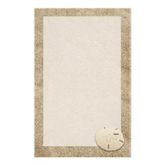 Eleganter Sand-Dollar stationäre 4 Briefpapier
