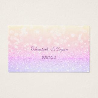 Elegantes bezauberndes berufliches Glittery Visitenkarte