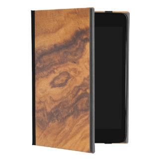 Elegantes Brown-Imitat-Holz No.3 iPad Mini 4 Hülle