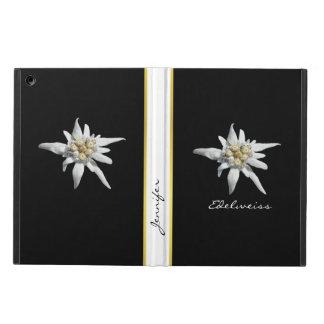 Elegantes Edelweiss Gewohnheits-iPad Air ケース