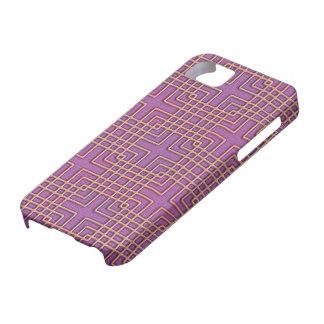 Elegantes geometrisches japanisches Muster iPhone 5 Etui