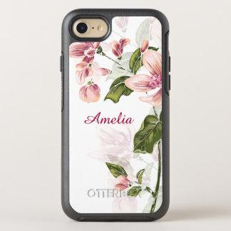 Elegantes Girly Blumen OtterBox Symmetry iPhone 7 Hülle